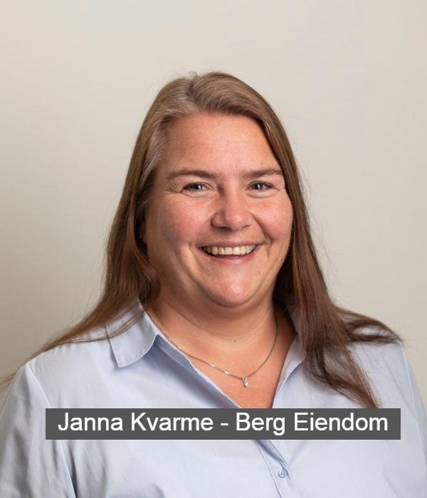 Janne Kvarme fra Berg Eiendom