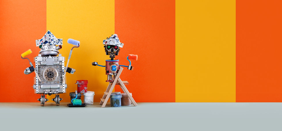 two-funny-mechanical-toys-artists-with-p