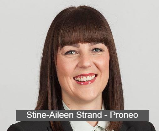 Stine-Aileen Strand fra Proneo