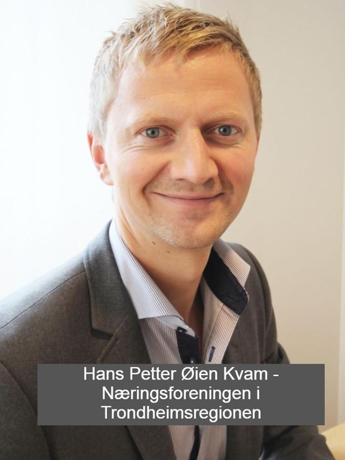 Han Petter Øien Kvam fra Næringsforeningen i Trondheimsregionen