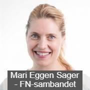 Mari Eggen Sager fra FN-sambandet