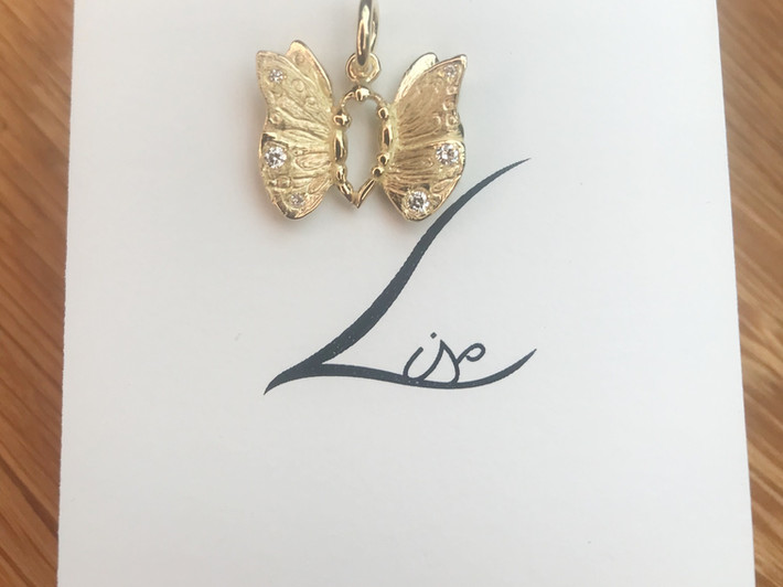 Herdenkingsjuweel Vlinder