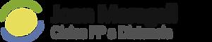 Logotipo de Joan Maragall a Distancia