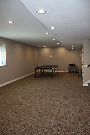Finished Basement in North Ogden, Utah