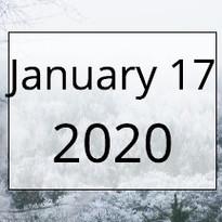 January 17, 2020
