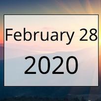 February 28, 2020