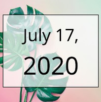 July 17, 2020 Newsletter