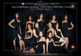 PRESENTING YOUR MISS & MISS TEEN PHILIPPINES CANADA 2017 CANDIDATES!