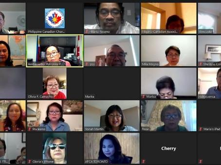 An Online Farewell for Ambassador Petronila Garcia!