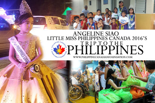 Little Miss Philippines Canada 2016's Trip to the Philippines