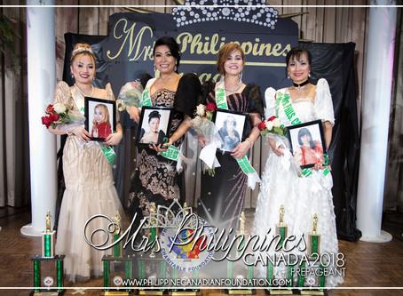 Mrs Philippines Canada 2018 Prepageant