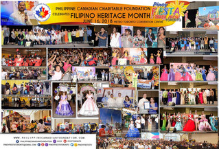 Celebrating the first Filipino Heritage Month at the Pinoy Fiesta & Trade Show sa Toronto
