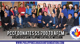 PCCF Donates $ 17,200 to ANCOP and AFCM!