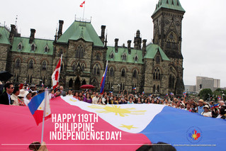 119th Philippine Independence Day Celebration at Parliament Hill, Ottawa