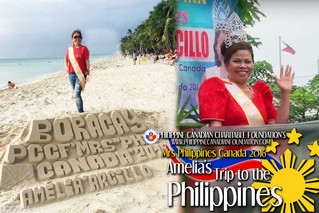 Mrs Philippines Canada 2016's Trip to the Philippines