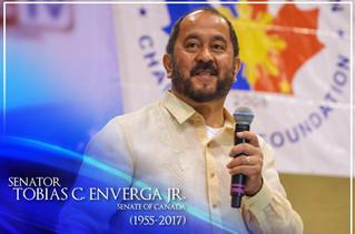 Rest in Peace Senator Enverga