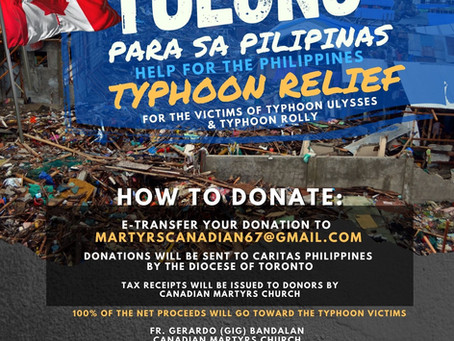 TULONG PARA SA PILIPINAS (HELP FOR THE PHILIPPINES)