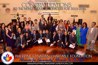 PCCF Inducts Officers and Foundation Leaders for 2015-2016
