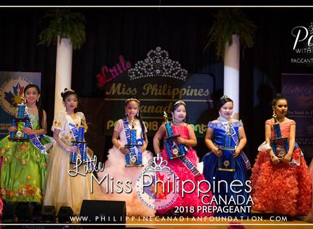 Little Miss Philippines Canada 2018 Prepageant
