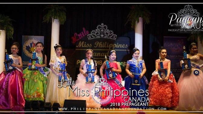 Little Miss Philippines Canada 2018 Prepageant