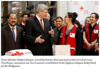 THANK YOU CANADA! $170 Million for Typhoon Haiyan Relief