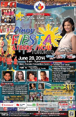 Lovi Poe to perform at Pinoy Fiesta and Trade Show sa Toronto