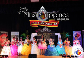 Press Release: Little Miss Philippines Canada 2016 Pre-Pageant