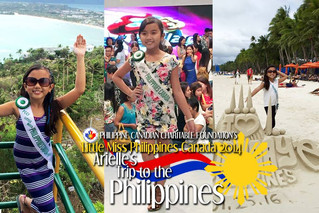 Little Miss Philippines Canada 2014 in the Philippines
