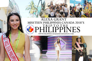 Miss Teen Philippines Canada 2018's trip to the Philippines