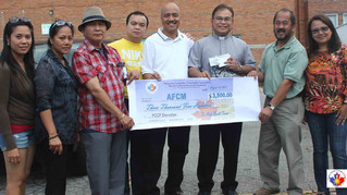 PCCF donates to the Archdiocesan Filipino Catholic Mission (AFCM)