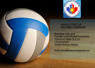 PCCF Coed Cup Volleyball Fundraiser Tournament