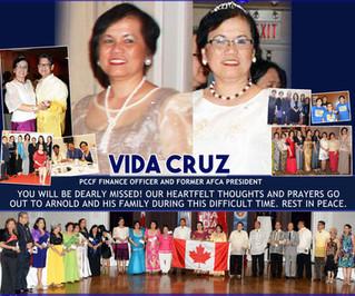 We'll miss you, Vida!