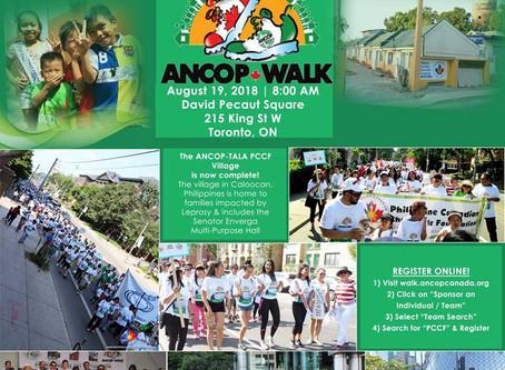 ANCOP Walk ... Let's Walk for the poor!