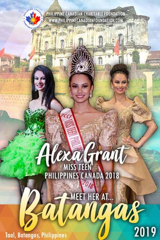 Meet Miss Teen Philippines Canada 2018 in Taal, Batangas!