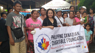PCCF's Relief Efforts for TAAL Eruption Victims