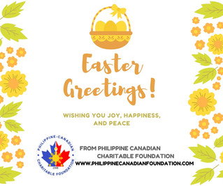 PCCF wishes you all HAPPY EASTER!
