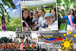 Miss Philippines Canada 2016's Trip to the Philippines