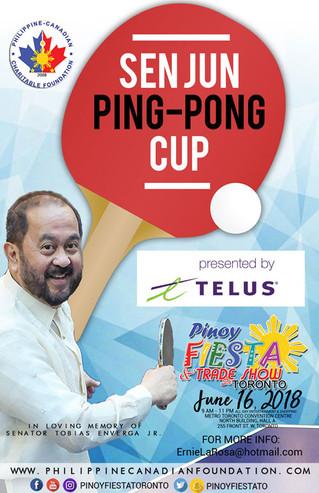 First ever SEN JUN Ping Pong Cup