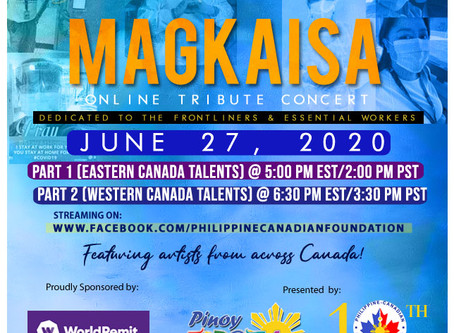 Magkaisa: an Online tribute concert for our Frontliners!