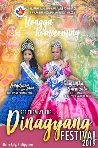 Little Miss Philippines 2016 & 2018 will be at the Dinagyang Festival!