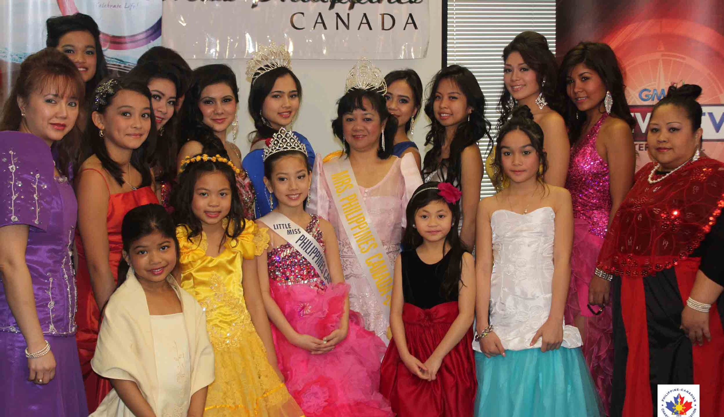 Our 2013 Candidates! With past winners - Arianna Pantaleon, Little Miss Philippines Canada 2012; June Javier, Mrs. Philippines Canada 2012 and Alev Usta, Miss Philippines Canada 2013. Good luck everyone!
