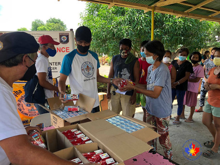Relief Efforts for the Taal Eruption and the COVID-19 Pandemic