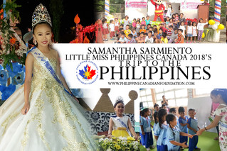 Little Miss Philippines Canada 2018's Trip to the Philippines
