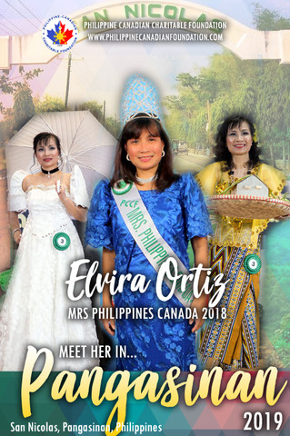 Meet Mrs Philippines Canada 2018 in Pangasinan!