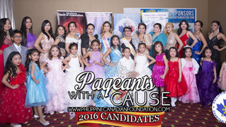 PCCF PRESENTS CANDIDATES FOR PAGEANTS WITH A CAUSE!
