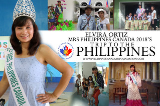 Mrs Philippines Canada 2018's trip to the Philippines