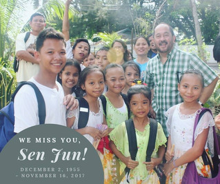 We miss you, SenJun!