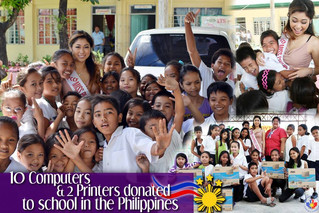 Computers donated to School in the Philippines