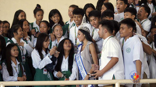 Miss Teen Philippines Canada 2016 receives a warm welcome from Notre Dame - RVM College