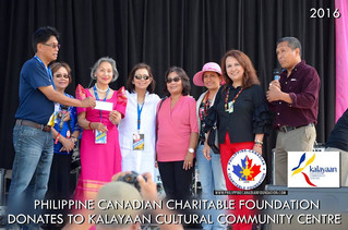 PCCF DONATES TO KALAYAAN CULTURAL COMMUNITY CENTRE,